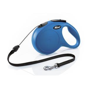 Поводок-рулетка для собак Flexi New Classic M, синий