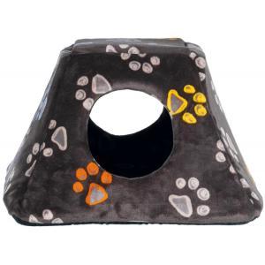 Домик для кошек и собак Trixie Jimmy, размер 44×28×42см., серо-бежевый