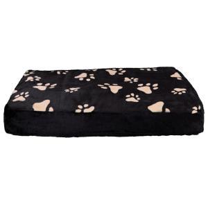 Лежак для собак Trixie Winny M, размер 80х55см., черный