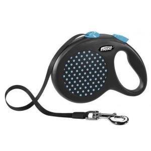 Рулетка для собак Flexi Design L, синий