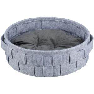 Лежак для собак и кошек Trixie Lennie, размер 40см., серый