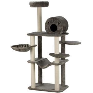 Домик для кошек Trixie Fabiola, размер 70х50х165см., серый