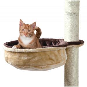 Гамак для кошек Trixie Cuddly Bag, размер 38см., бежевый / коричневый