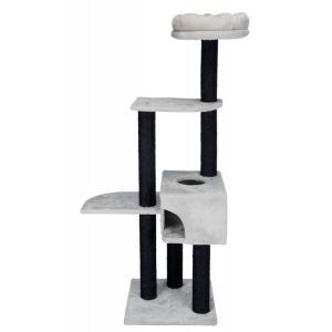 Домик-когтеточка для кошек Trixie Nita, размер 45х45х147см., светло-серый