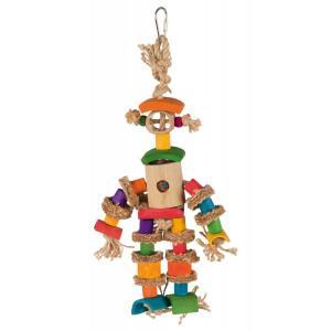 Игрушка для птиц Trixie Bamboo man, размер 25см.