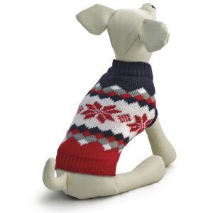 Свитер для собак Triol Винтаж XXL, размер 45см., красно-черный