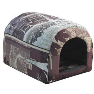 Домик для собак и кошек Гамма Дг-06724, размер 30х42х28см., цвета в ассортименте