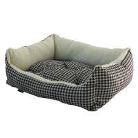Фотография товара Лежак для собак Гамма Кантри мини S, размер 42х40х15см., цвета в ассортименте