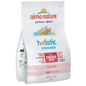 Корм для кошек Almo Nature Functional Adult, 2 кг, говядина, рис