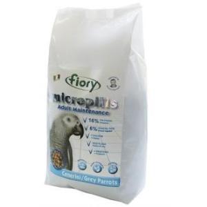 Корм для попугаев Fiory Micropills Grey Parrots, 2.63 кг