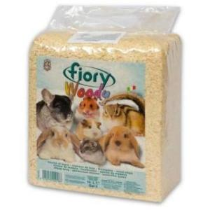 Опилки для грызунов Fiory Woody, 1.01 кг, 14 л