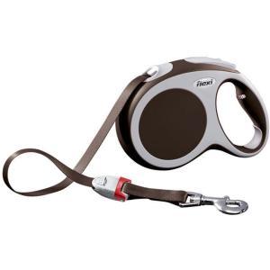 Рулетка для собак Flexi Vario L L, коричневый