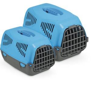 Переноска для собак и кошек MPS Sirio Little, размер 50х33.5х31см., голубой