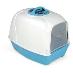 Био-туалет для кошек MPS Pixi, размер 52х39х39см., синий