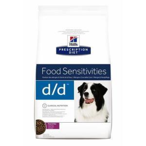 Корм для собак Hill's диета D/D, 2 кг, утка и рис