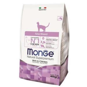 Корм для кошек Monge Sterilised , 400 г