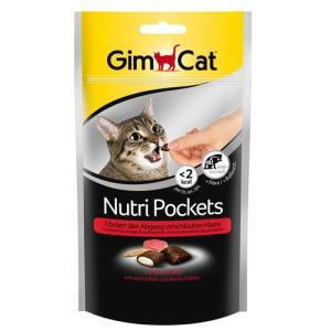 Лакомство для кошек GimCat Nutri Pockets, 60 г