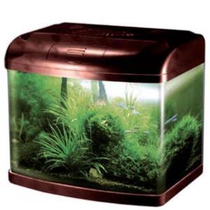 Аквариум для рыб Jebo 375R, 143.3 л, размер 75х42х56см., вишня