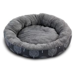 Лежак для собак Triol Сказочный лес S, размер 53х53х10см., серый