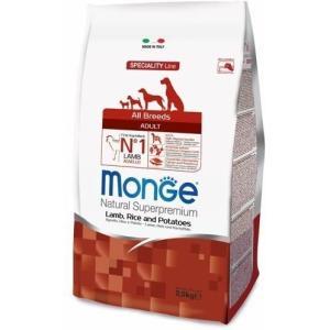Корм для собак Monge Dog Speciality, 2.5 кг, ягненок с рисом и картофелем