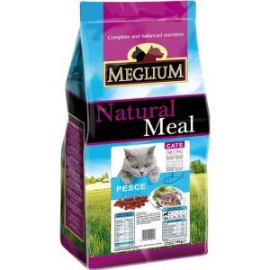 Корм для кошек MEGLIUM Cat Adult, 3 кг, рыба