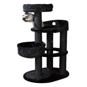 Домик когтеточка для кошек Trixie Fillipo, серый