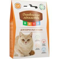 Фотография товара Лакомство для кошек Деревенские лакомства Вита, 120 шт
