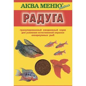 Корм для рыб Аква Меню Радуга, 25 г