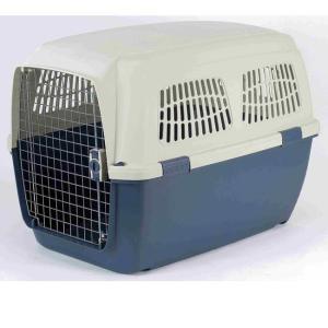 Переноска для собак Marchioro Clipper Cayman, размер 7, размер 105х75х79см., сине-бежевый