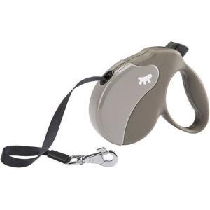 Поводок-рулетка для собак Ferplast Amigo Small, сизо-серый