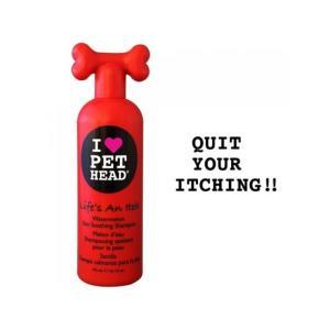 Шампунь для собак Pet Head Жизнь без зуда