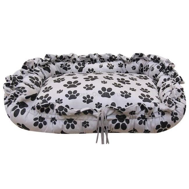 Лежак для собак Гамма Релакс, размер 66х48х15см., цвета в ассортименте - Интернет зоомагазин MyPet-Online.ru