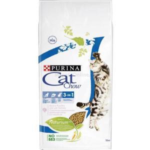 Корм для кошек Purina Cat Chow Feline 3 in 1, 15 кг, индейка