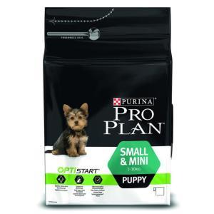 Корм для щенков Pro Plan Puppy Small & Mini, 3 кг, курица