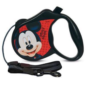 Поводок-рулетка для собак Triol Disney Mickey S, размер 13.5х2.5х10см.