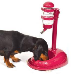 Кормушка-автопоилка для собак и кошек Triol, размер 42х28х29см., цвета в ассортименте