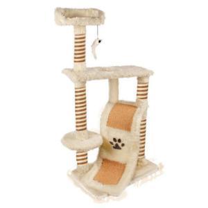 Игровой комплекс для кошек Triol, размер 60x40x123см., бежевая