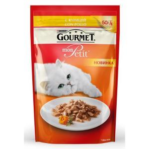 Корм для кошек Gourmet Mon Petit, 50 г, курица