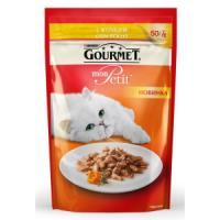 Фотография товара Корм для кошек Gourmet Mon Petit, 50 г, курица