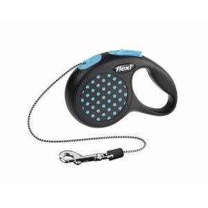 Поводок-рулетка для собак Flexi Design Classic XS, синий