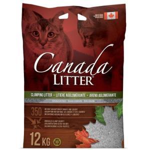Наполнитель для кошачьего туалета Canada Litter Запах на замке, 12 кг