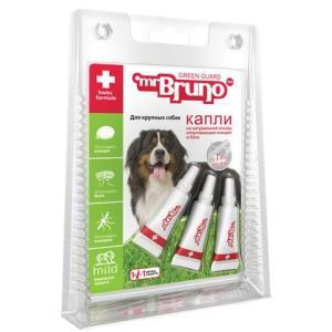 Капли для собак крупных пород Mr. Bruno Green Guard