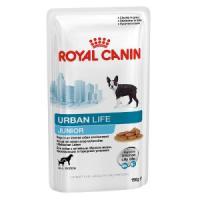 Фотография товара Корм для щенков Royal Canin Urban Life Junior, 150 г