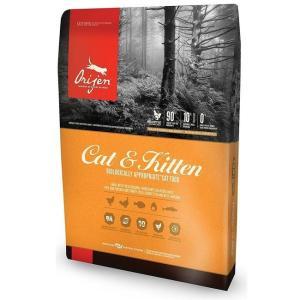 Корм для кошек и котят Orijen Cat & Kitten, 17 кг, курица с индейкой и рыбой