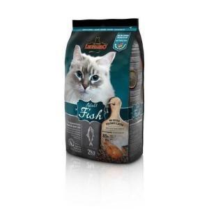 Корм для кошек Leonardo Adult Fish, 2 кг, рыба и рис