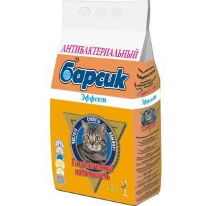Наполнитель для кошачьего туалета Барсик Эффект, 3 кг, 4.54 л
