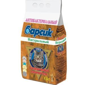 Наполнитель для кошачьего туалета Барсик Натурал, 3 кг, 4.54 л