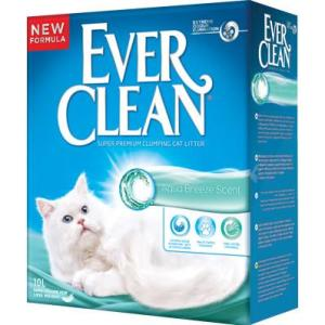 Наполнитель премиум класса Ever Clean Aqua Breeze Scent, 10 кг