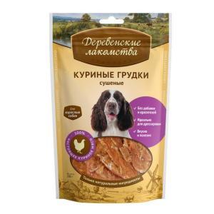 Лакомство для собак Деревенские лакомства, 100 г, курица