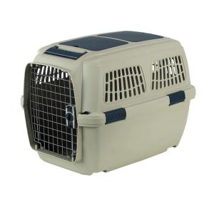 Переноска для собак и кошек Marchioro Clipper Tortuga, размер 4, размер 71х50х51см., бежевый/синий